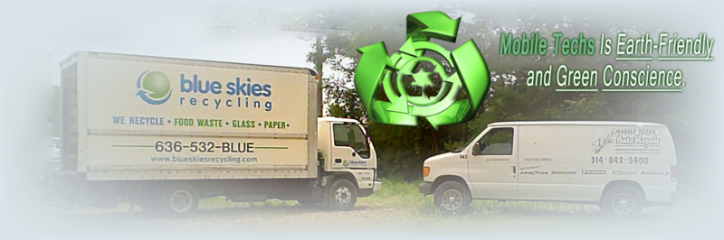 Mobile Techs of St Louis is an earth-friendly and green conscience organization.