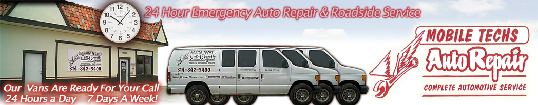 Mobile Auto Repair Shop In St Louis Mo | Roadside Assistance/Service In St Louis Mo